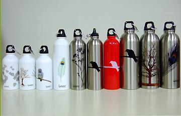 Different sizes of Earthlust Bottles