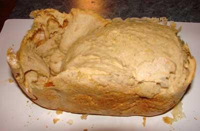 Sourdough bread gone bust.