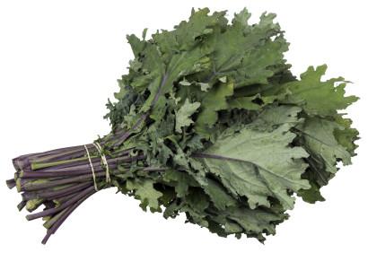 dark green vegetable kale